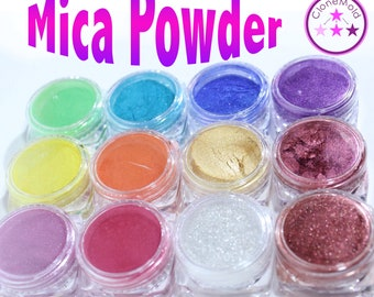 Mica Powder Pigment for Resin, dye, color, pearl pigment, 3g