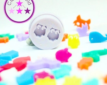 Stud Mold Earring Silicone Rubber Mold Various Shapes