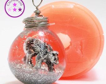 Ball Ornament Mold Medium; Silicone Rubber