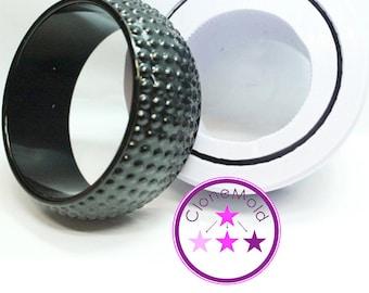 Bangle Mold Dotted Bracelet Mold