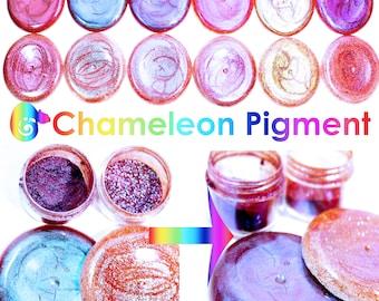 Chameleon Chrome Pearl  Glitter Changing Colour Powder Resin Pigment