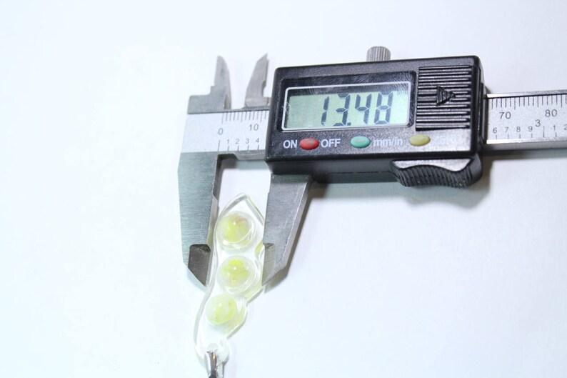 Pea Pod Pendant Mold; Pendant Silicone Rubber Mold