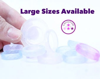Ring Mold Facetted Stackable Band ; Size 5, 5.5, 6, 6.25, 6.5, 6.75, 7, 7.25, 7.5, 7.75, 8, 8.25, 8.5, 8.75, 9, 9.5, 10, 10.5, 11, 11.5
