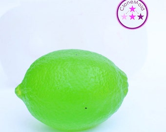 Lemon Lime Mold, Wax, Candy, Chocolate, Candle Concrete Silicone Rubber