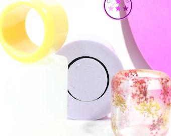 Napkin Ring Mold Beveled Round Silicone Rubber