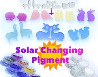 Solar Pigment Sunlight Color Changing Powder Resin Pigment