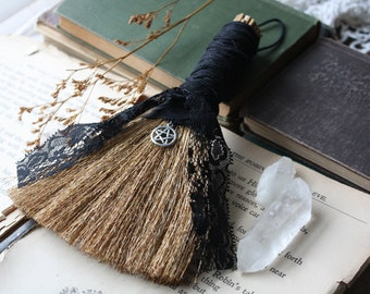 Witch Besom | Altar Broom | Witch Broom | Wicca Home Decor