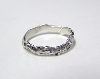 Woodland Forest ring in Sterling Silver .925 (ring size 4 to 8)