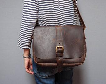 Men's Leather Bag, man bag, laptop bag, manbag, leather bag, brown leather bag, mans bag, mens leather satchel, gifts for Dad, gifts for men