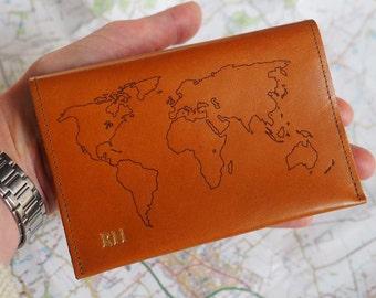 Banana Leaf Pillo Multi-purpose Travel Passport Set With Storage Bag Leather Passport Holder Passport Holder With Passport Holder Travel Wallet