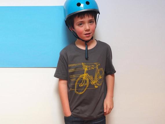 Boys Bike Diagram T Shirt Boys bike gift Teenage Boy Gifts  bdb5063e0