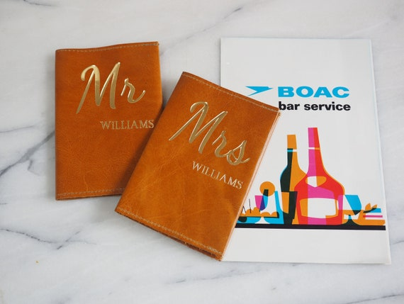 Mr and Mrs passport holder