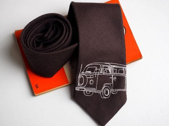 camper van gift campervan vw campervan camper van camping gift leather belt with VW campervan print campervan gifts leather belt men