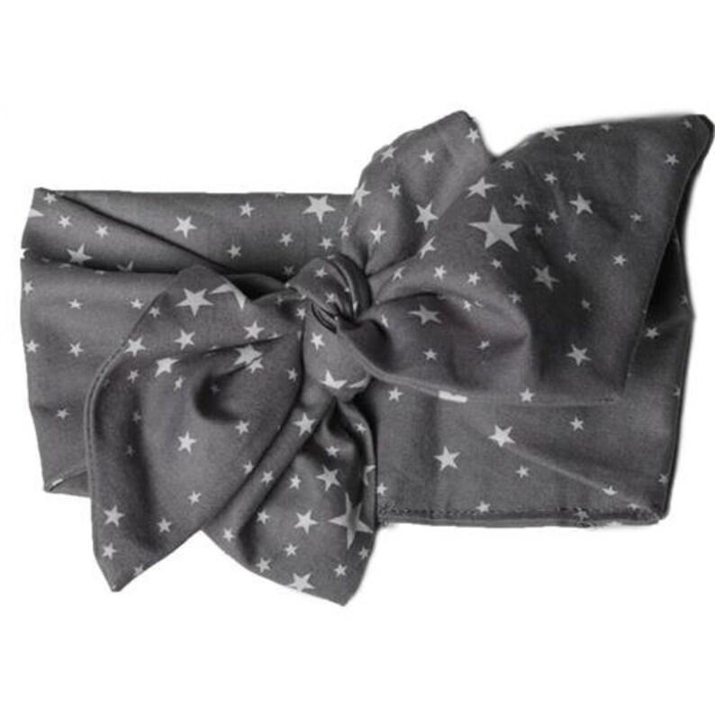 star print headwrap image 0