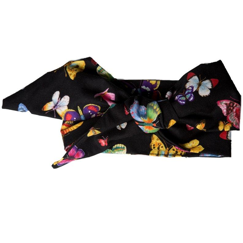 butterfly headwrap headband image 0