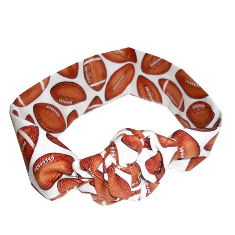 football print headwrap image 0