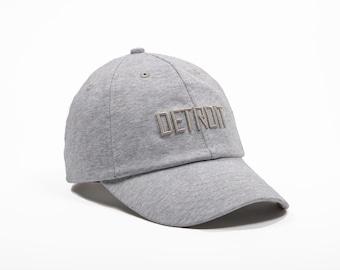 Detroit heather gray jersey baseball cap