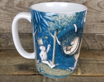 Wild Things Max is King coffee Mug maurice sendak Gifts for Kids Book Lovers gifts for readers Gifts Under 15 book mugs Childrens Book Art
