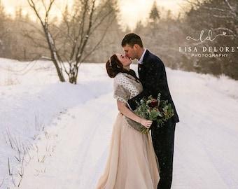 Faux Fur Bridal Wrap,Bridal Stole,Wedding Cover Up,Bridal Shawl,Winter Wedding,Bridal Cape,Cuddle Wrap