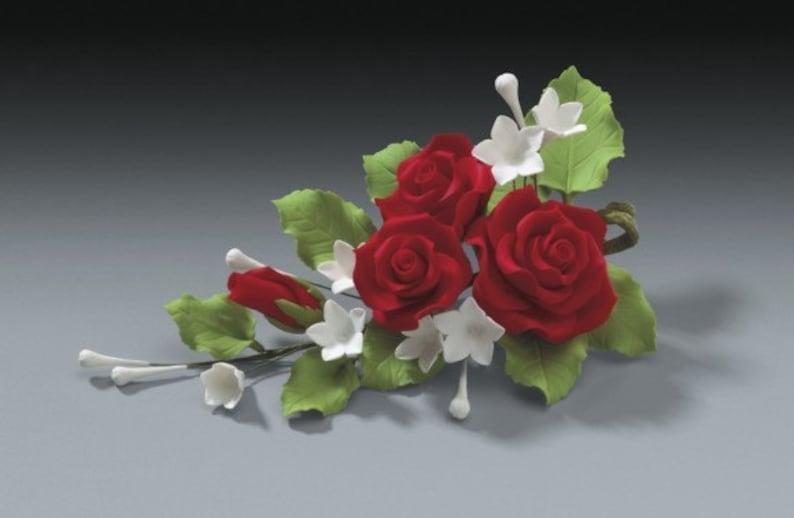2 Sets Aerosoles Pasteles Rojo Chicle Y De Goma Bodas Decoración Rosa Flores Para v0wN8nm