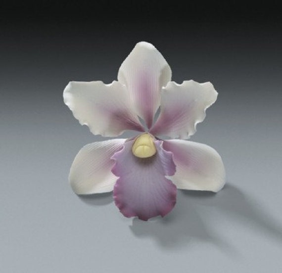 Gumpaste Flowers For Wedding Cakes: 3 Tropical Orchid Gum Paste Flowers For Weddings And Cake