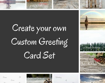 Photo Greeting Card Set, 4x5 inspirational cards, blank inside, travel inspiration life event encouragement, multiple cards, set of 5 sale