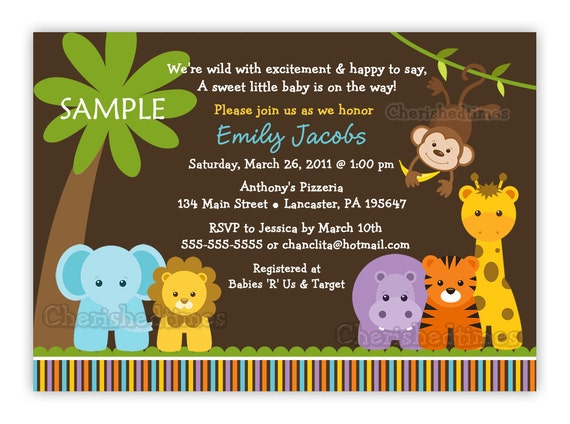 Striking image intended for etsy baby shower invitations printable