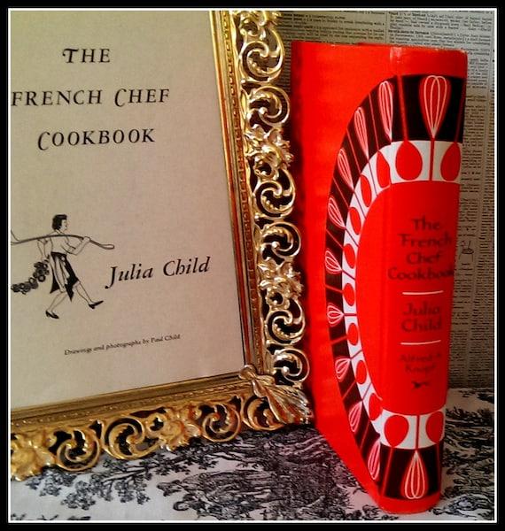 Livre Le Livre De Cuisine Francais Chef De Julia Child Livre Culinaire Sac A Main Fait Sur Commande D Embrayage
