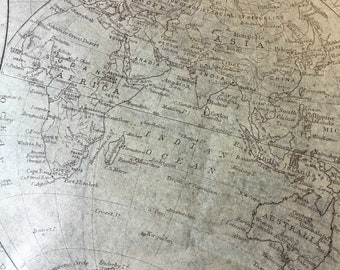 Map wrapping paper   Etsy