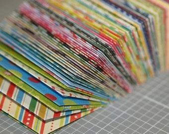 Mini Envelopes 100 Business Card Size Assortment Wedding Etsy