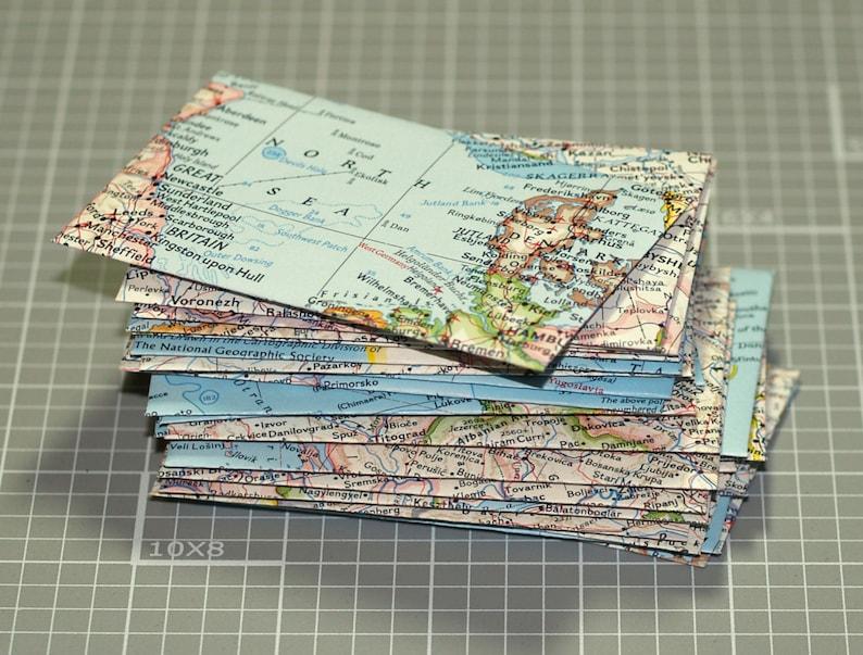 Carte Des Enveloppes 25 Mini De Visite