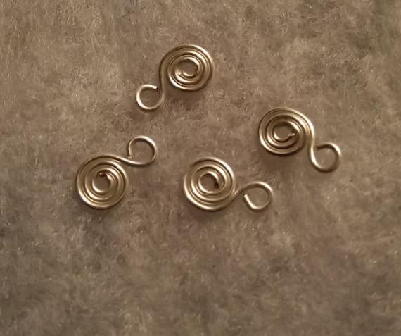 Handcrafted Swirl Copper Head Pins 20 gauge Lead//Nickle Free}