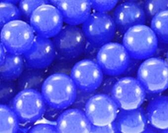 4mm Lapis Jade Round Beads