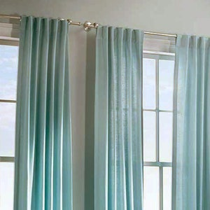 50 x 96 Back tabs 50 x 90 rod pocket 50 x 84 Solid color linen curtains 50 x 108 Butter yellow 50 x 90