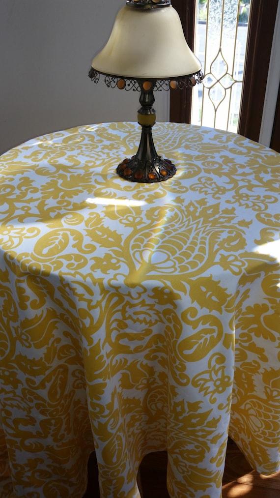 tablecloth linen cornyellow,