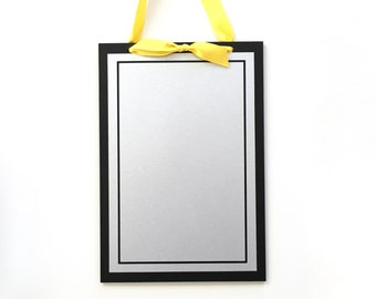 Delicieux Magnet Board   9x13 Magnetic Memo Board