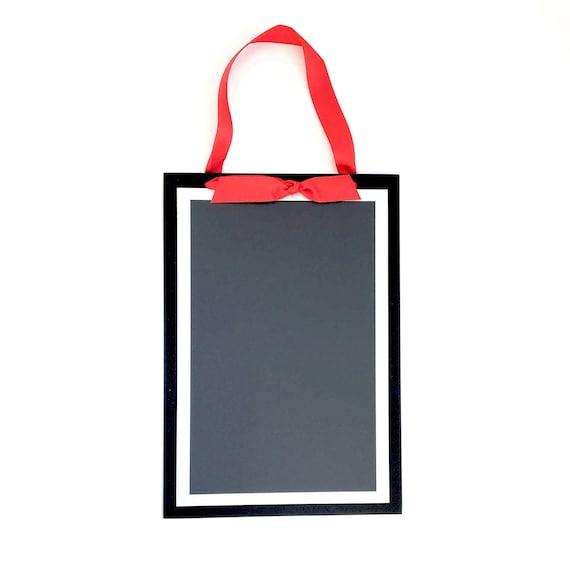 shopping list Magnetic Chalk Board 9x13 menu to do list memo board