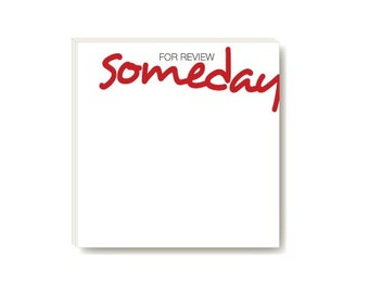POSTIT in writing - for review someday (sticky notes)