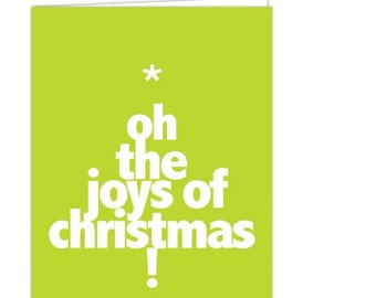 christmasJOY (set of 5 cards)