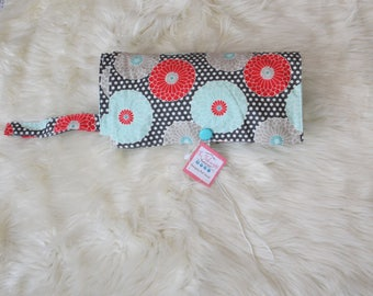 Changing Pad/ Diaper Clutch/ Diaper Changer/ Diaper Bag/ Girlie Diaper Changer/ Baby Shower Gifts/ Baby Shower gift for Girl/ Gifts for mom