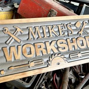 Beautiful natural wood personalised  Father\u2019s Day dad tools garage car keyring key fob gift present