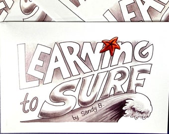 LEARNING TO SURF Comic Mini-Graphic Novel
