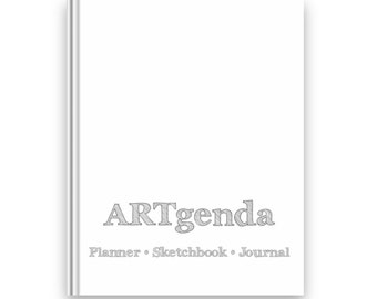 ARTgenda - Planner-Sketchbook-Journal