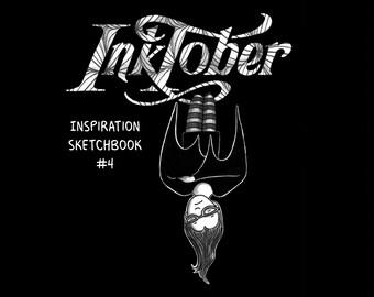PDF - Inspiration Sketchbook #4 - Inktober