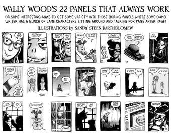 22 Panels That Always Work - Printable Poster
