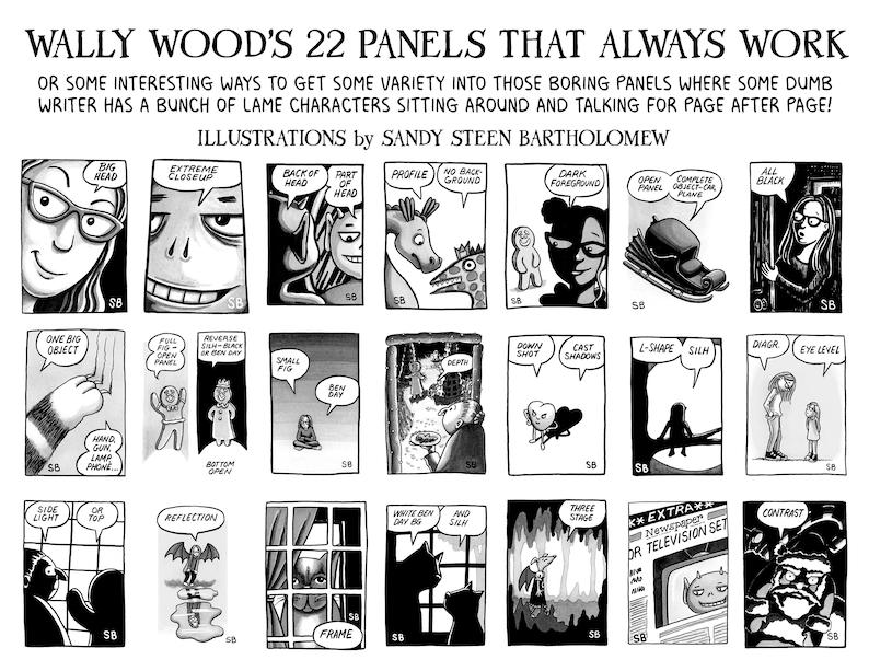22 Panels That Always Work  Printable Poster image 1