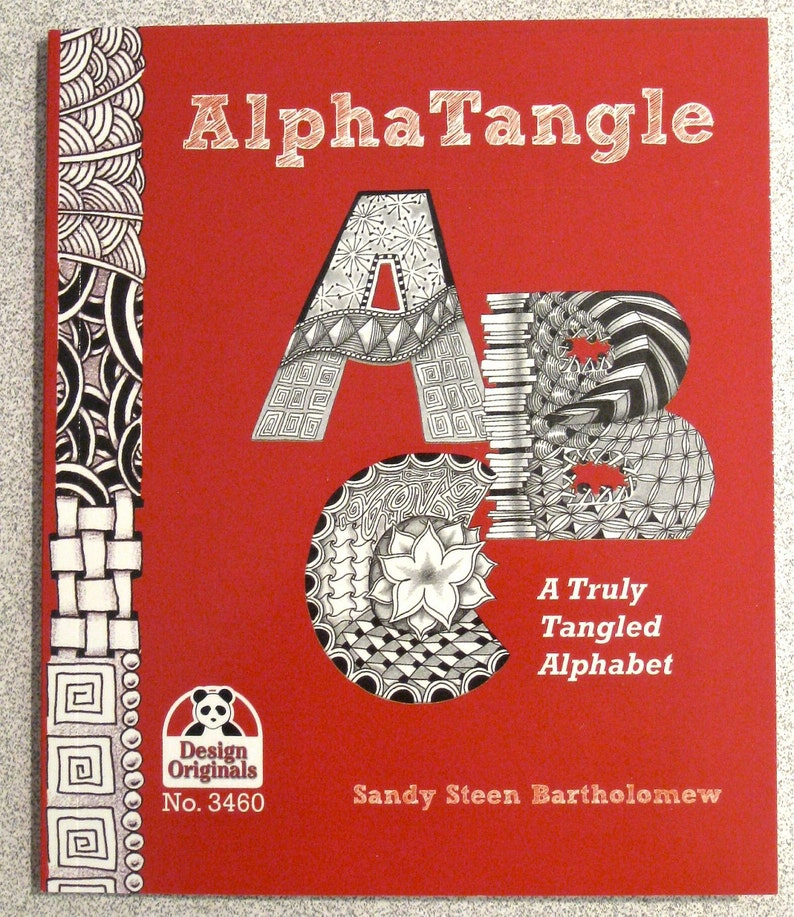 AlphaTangle  A Truly Tangled Alphabet Book Revised SIGNED image 0