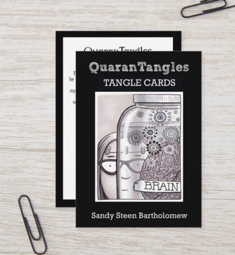 QuaranTangles  Limited Edition Tangle Cards image 1