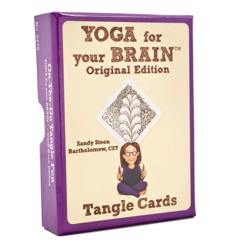 Tangle Cards  Yoga for Your Brain Edition image 0
