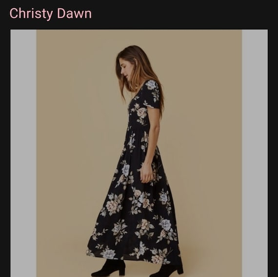 "CHRISTY DAWN ""Scarlet"" Dress"
